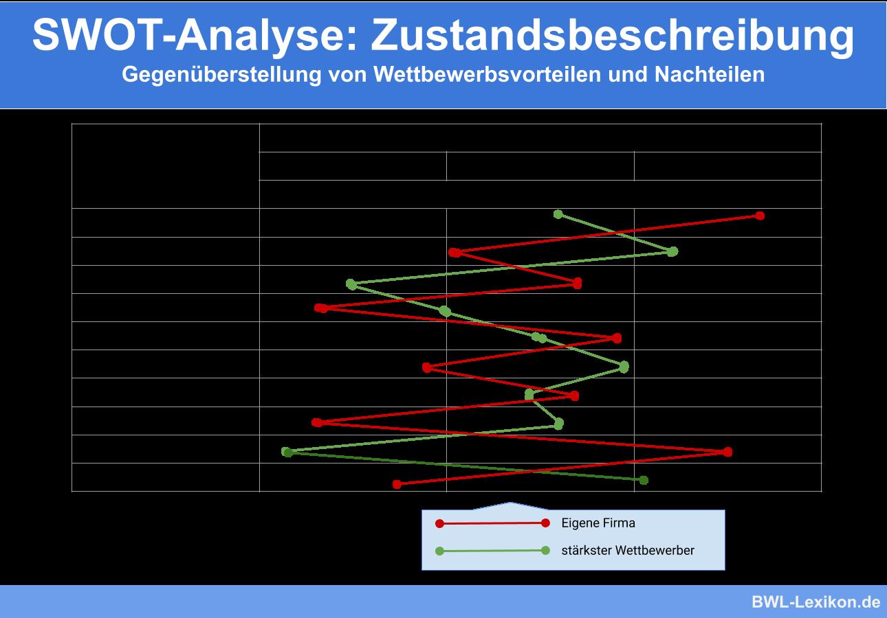 SWOT Analyse: Zustandsbeschreibung