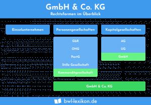 GmbH & Co. KG: Rechtsformen im Überblick