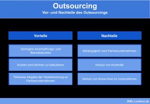 Outsourcing: Vor- und Nachteile des Outsourcings