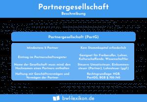Partnergesellschaft: Beschreibung