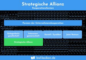Strategische Allianz: Kooperationsformen