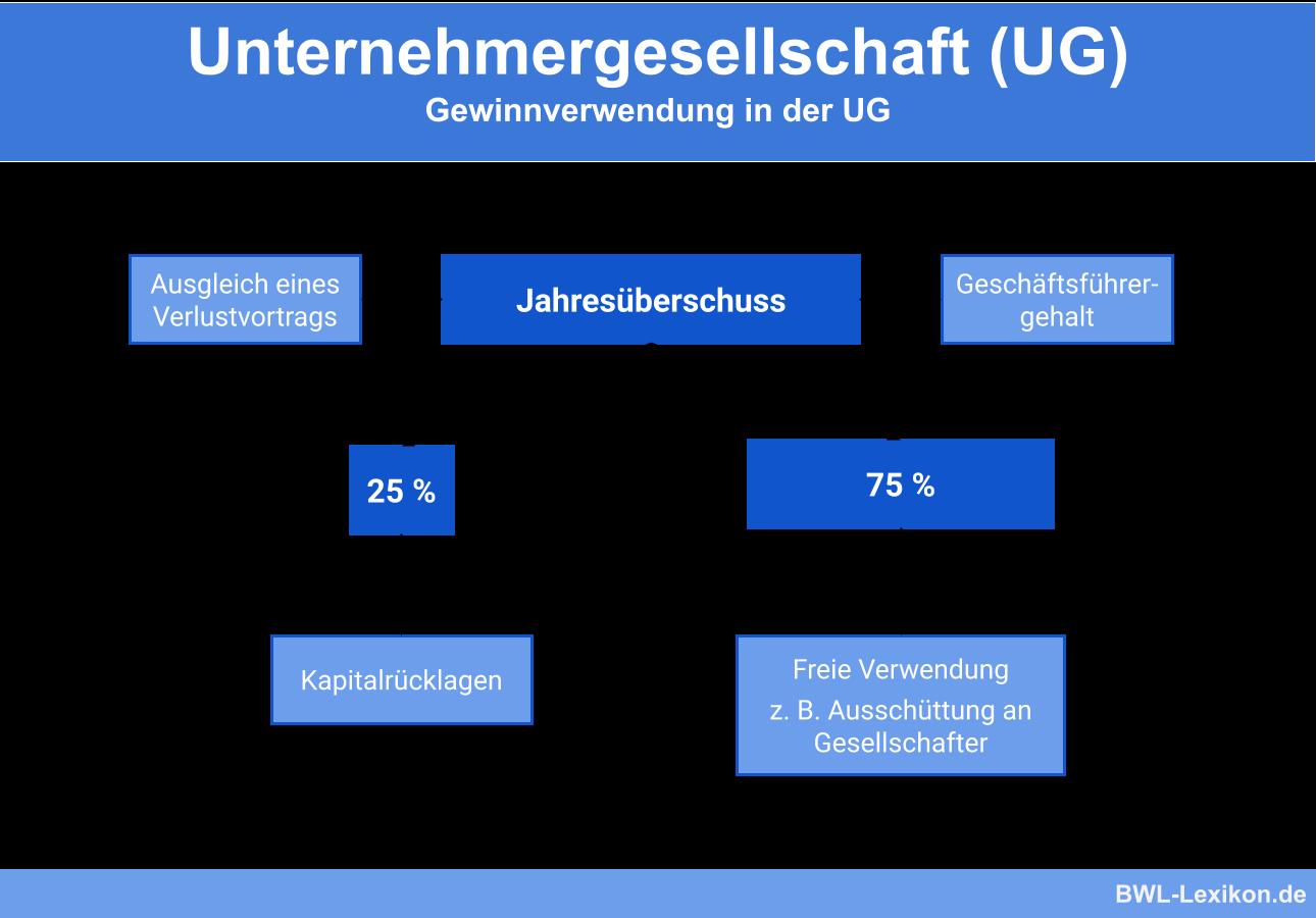 Unternehmergesellschaft (UG): Gewinnverwendung in der UG